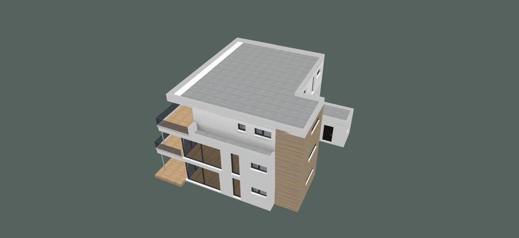 ARKITURA Projekte im Bau - Einfamilienhaus im Raum Frankfurt mit ca 400qm