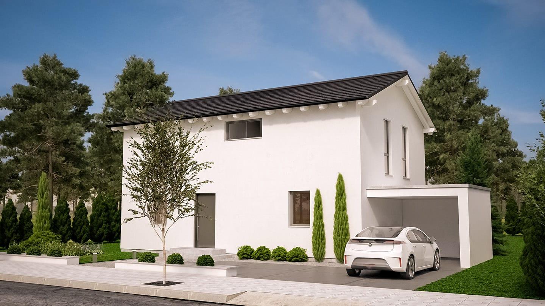 ARKITURA Projekte im Bau - Einfamilienhaus im Allgäu mit 198 qm