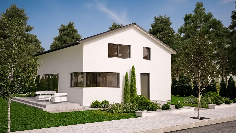 ARKITURA Projekte im Bau - Einfamilienhaus im Allgäu mit 214 qm