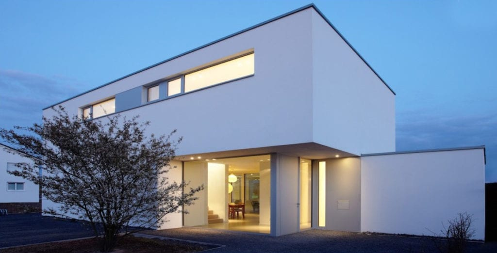 ARKITURA Projekte im Bau - Einfamilienhaus im Raum Dreieich mit ca 298qm