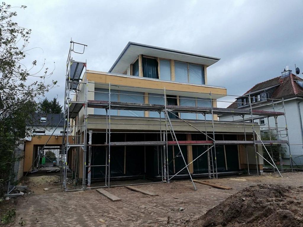 ARKITURA Projekte im Bau - Einfamilienhaus im Raum Dreieich mit Staffelgeschoss mit ca 355qm