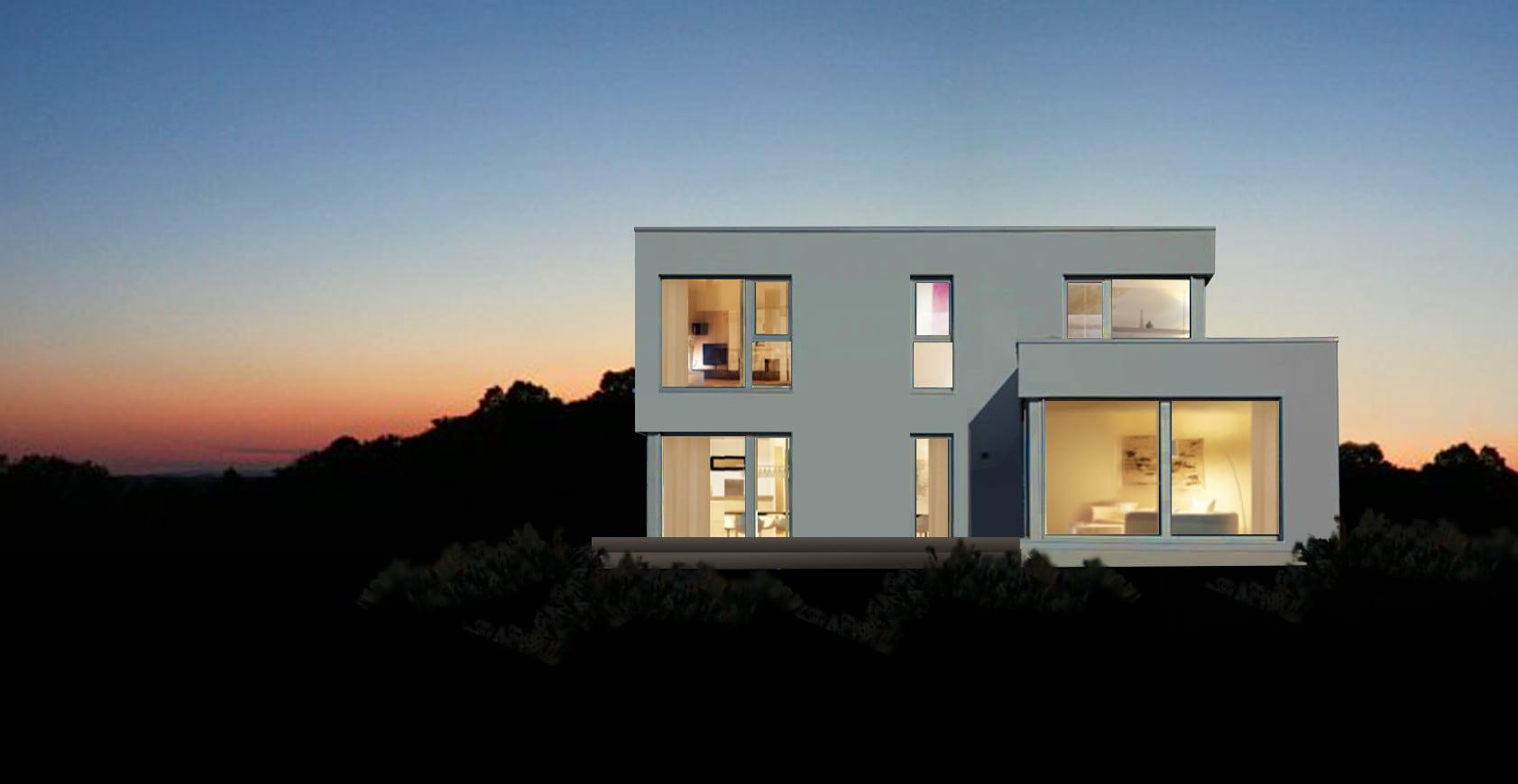ARKITURA Projekte im Bau - Einfamilienhaus im Raum Heldenbergen mit ca 210qm