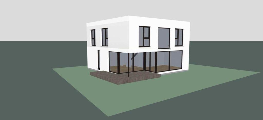 ARKITURA Projekte im Bau - Einfamilienhaus in Bad Nauheim mit 155qm