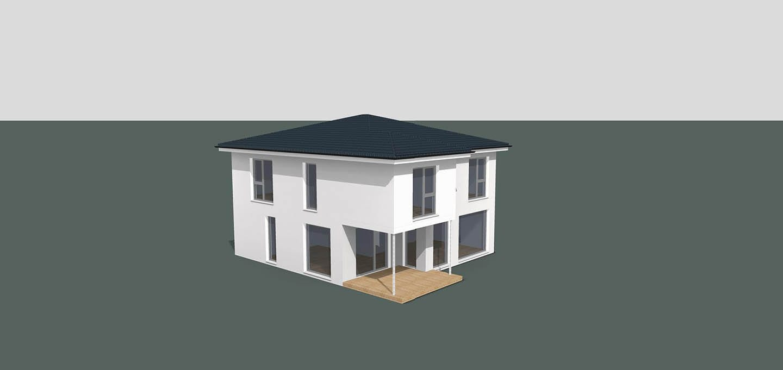 ARKITURA Projekte im Bau - Einfamilienhaus im Raum Nidderau mit 180 qm