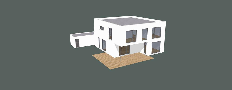ARKITURA Projekte im Bau - Einfamilienhaus im Raum Nidderau mit 190 qm