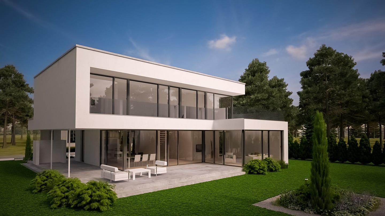 ARKITURA Projekte im Bau - Einfamilienhaus im Raum Nidderau mit 240 qm